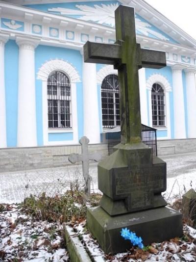 2. Могила В.А. Римского-Корсакова. Ноябрь 2014 года.JPG