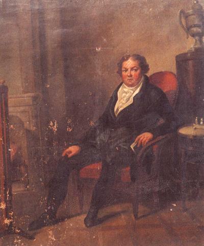 Портрет графа а и воронцова в кресле